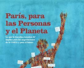 """Portada del informe """"París, para las Personas y el Planeta"""""""